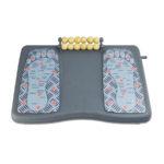 Apoio para Pés Magnético e Massageador Reliza - Regulável / ErgoLight 42,5x29 cm