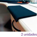 Quebra quina de Mesa / Apoio Braços - Confort Single (Neoprene) - 25cm (Kit 2 unidades)